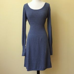 Prana Zora Scoop Neck Cotton Sweater Dress